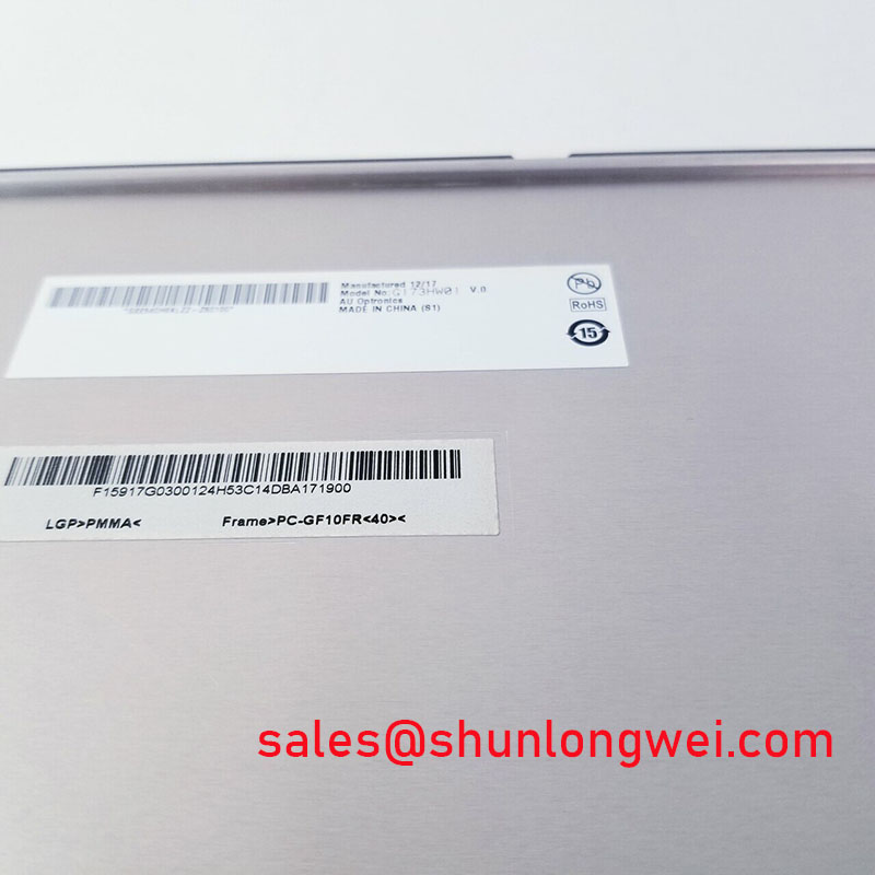 AUO G173HW01 V0 Specification
