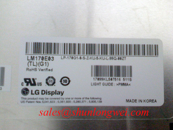 LG LM170E03-TLJ1 Specification